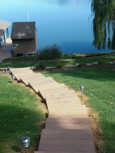 Custom Landscaping Steps